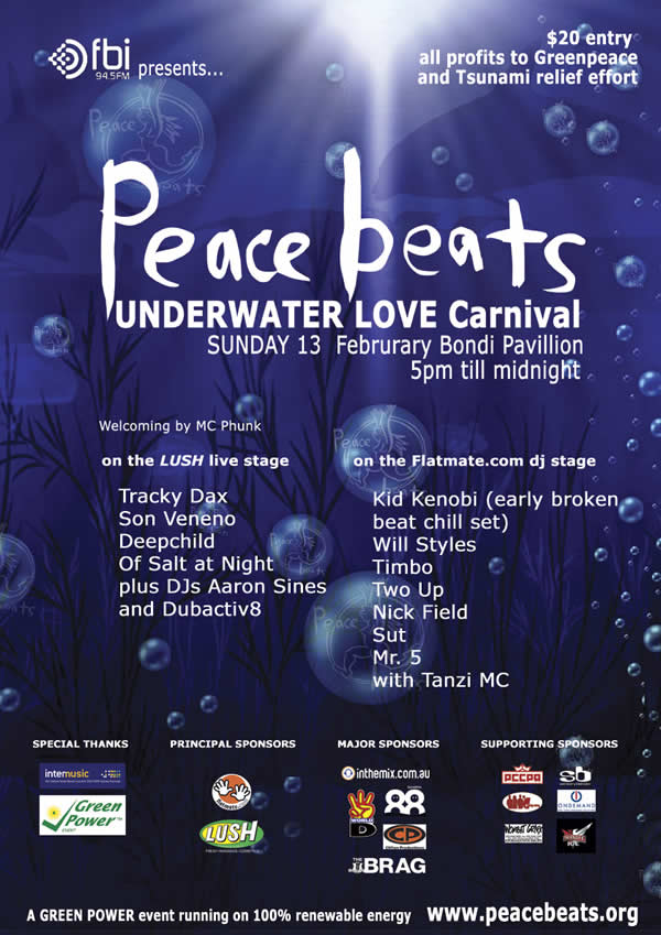 Peace Beats Bondi 2005
