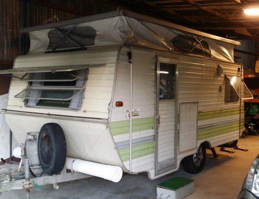a picture of a caravan